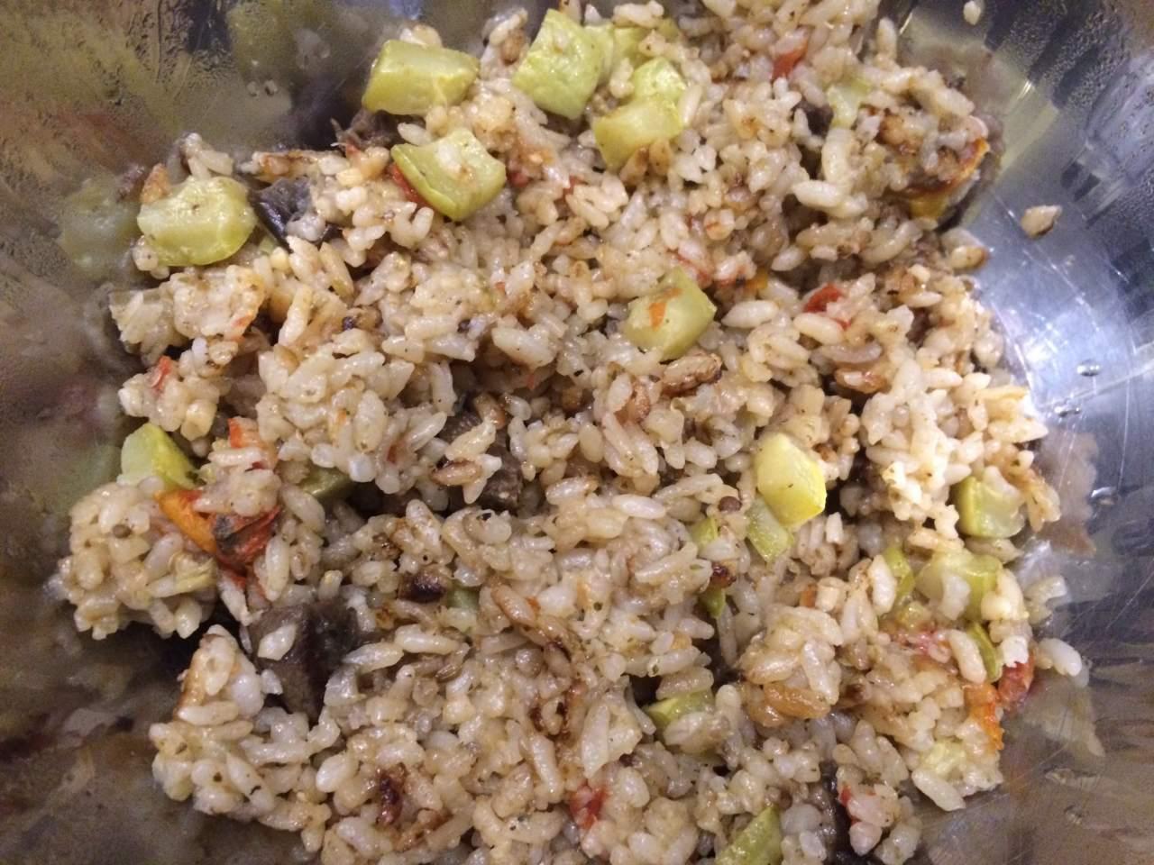 Рис с яйцом по-китайски в мультиварке рецепт пошагово