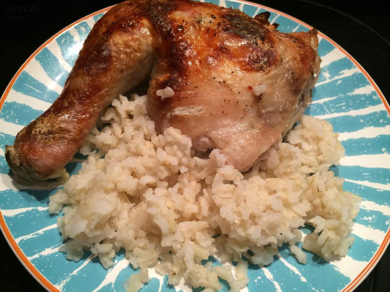 Курица в кефире в духовке рецепт