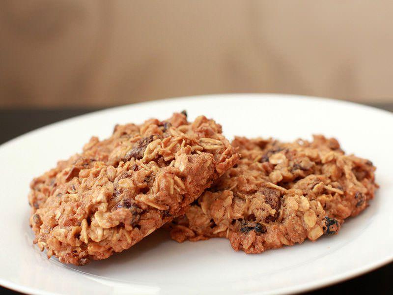 Рецепт полезного овсяного печенья из овсяных хлопьев