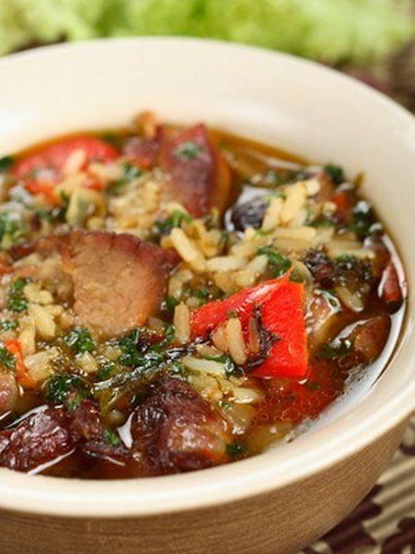 Суп из баранины рецепты